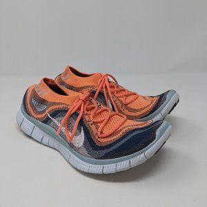Nike Free 5.0 Flyknit Running Shoes Women's Sz 9.5